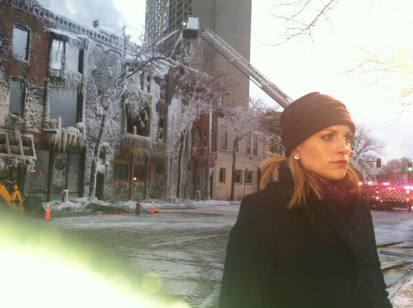 jamieyuccas (@jamieyuccas): On scene of explosion and fire in Minneapolis for @cbseveningnews http://t.co/XaOv7IkCiw