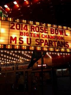 RT @MMFlint: At our theater in Traverse City, a packed house of 600 watching our Michigan State Spartans win the Rose Bowl #MSU http://t.co/g0zjEnGbCX