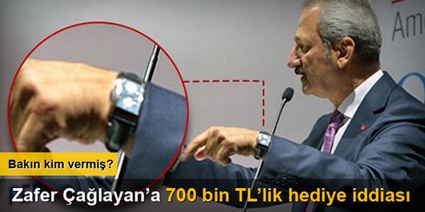 Zafer Çağlayan'a 700 Bin TL'lik Patek Philippe marka saat iddiası http://t.co/i3sLEsoUEr #ZaferÇağlayan http://t.co/QswC9T1Ff5