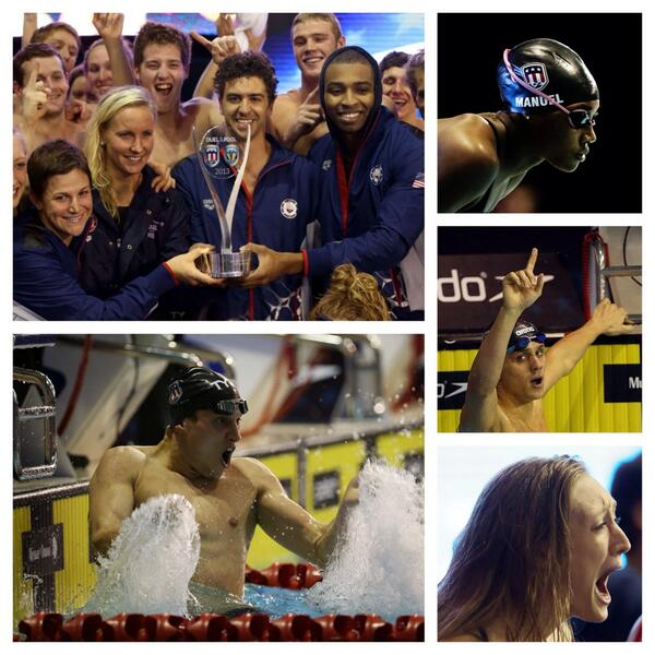 Overtime in swimming? You bet! Tune into @nbc at 4 PM Sunday and see how the amazing #MutualDuel finish went down. http://t.co/7Z970NrAAW