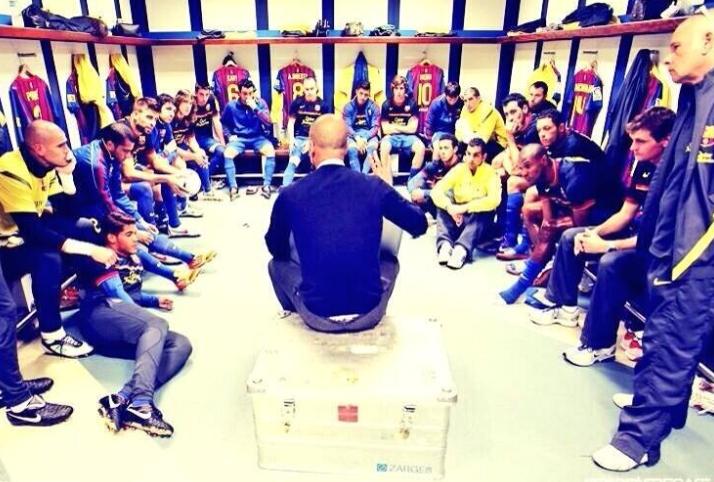 entrenador, feedback, charla, descanso