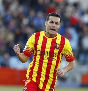 BcG40fOCEAEpfB  Man United, Liverpool & Arsenal all interested in January move for Barcelonas Pedro [Marca]