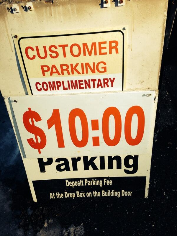 This is where I come for all my free ten o'clock dollar parking. http://t.co/EXhDF4jiEB