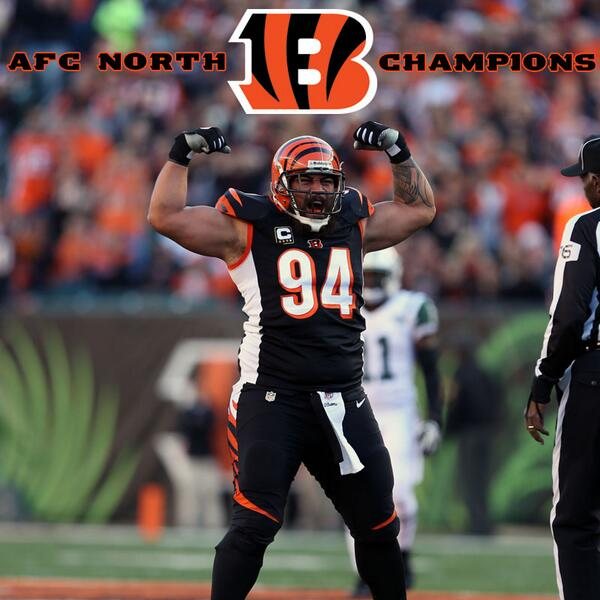 AFC North Champions! #WhoDey #Bengals http://t.co/ViZSQngx66