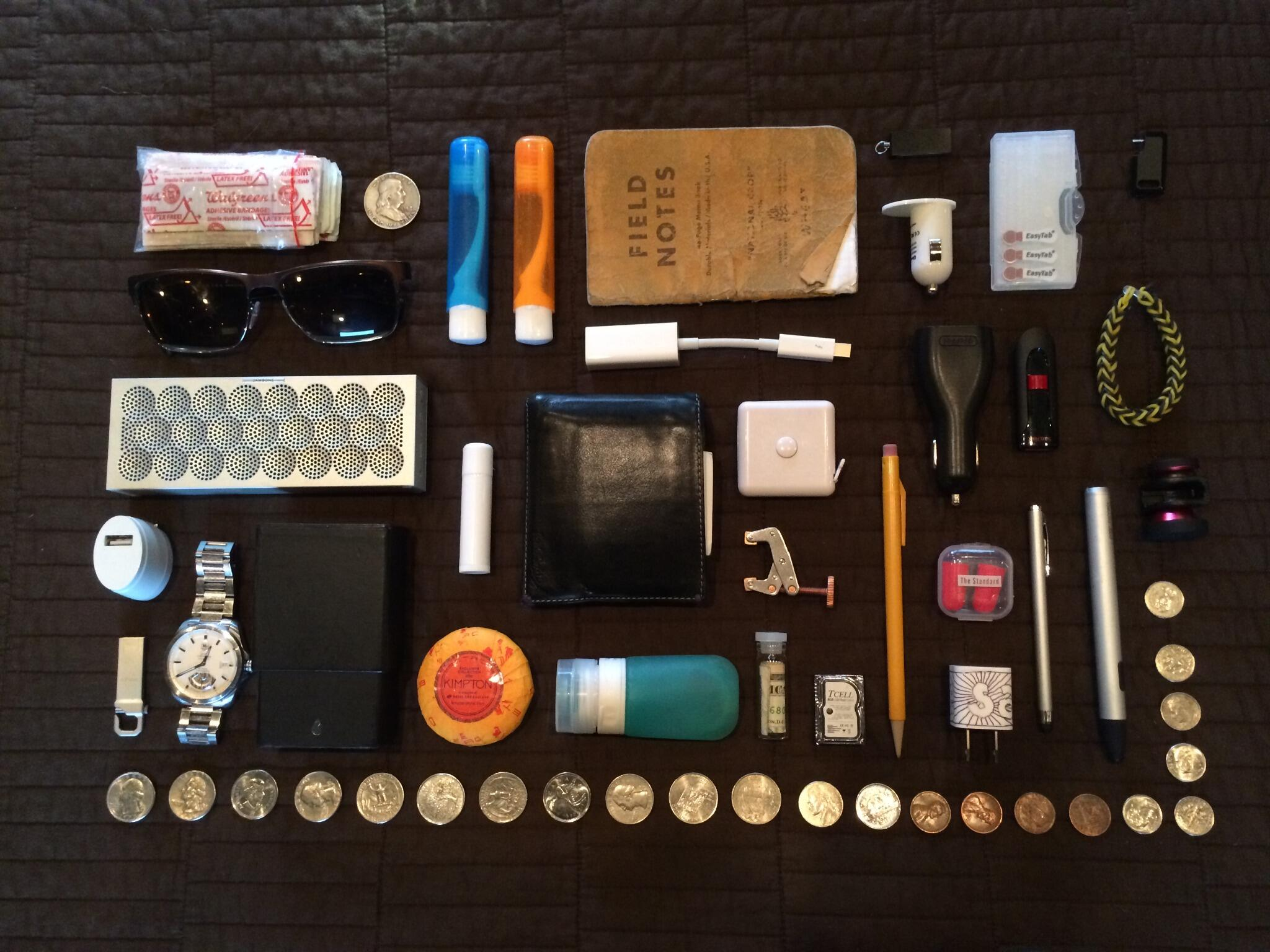 The other day I had a particular good knoll as I talked on the phone. #knolling @organizedthings http://t.co/HlgFzwz3e9
