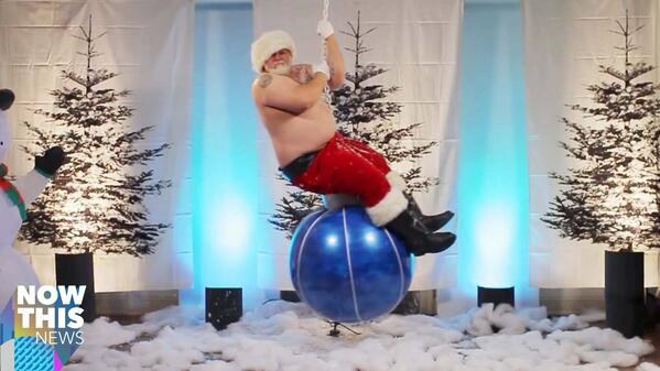 Instead of coming down your chimney this year, I'm COMING IN LIKE A WRECKING BALL http://t.co/Plz58wRZ7Z