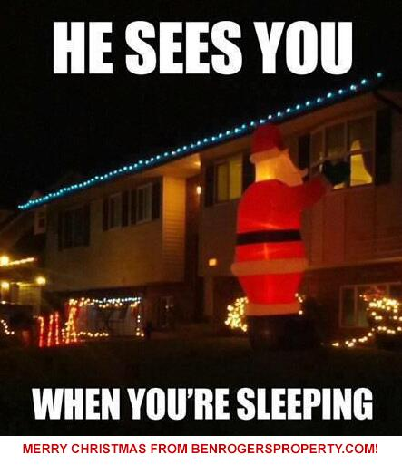 Let's hope your Christmas decorations are a little less intrusive than this person's... Have a wonderful Christmas! http://t.co/fC5rYkIL0z
