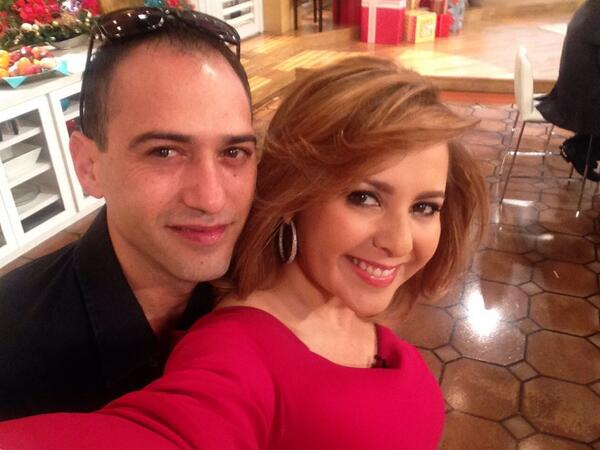 Aqui con mi querido @DannyTrueba !!! http://t.co/CDSvj601kK