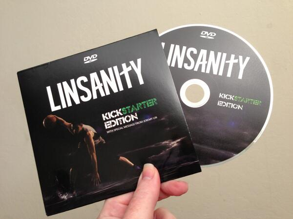 Christmas came early!  I got my Kickstarter @LinsanityMovie DVD in the mail today @JLin7 http://t.co/YY6no5XPGf