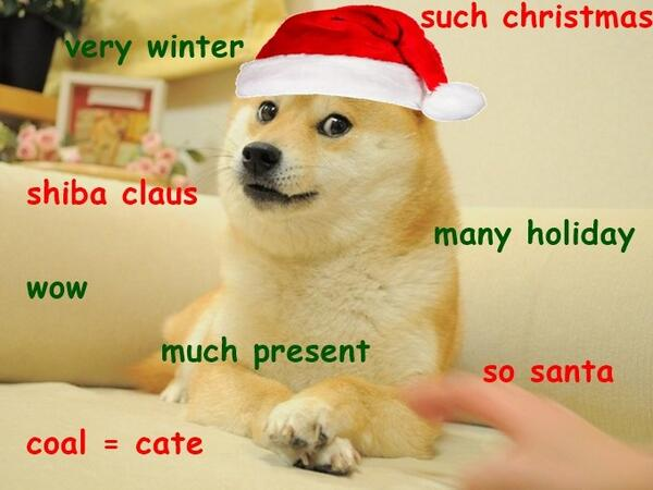 Merry Dogemas Everyone! | http://t.co/E9YCFUs3QH