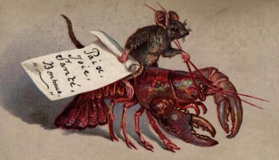 This 19th-century Christmas card says it all. http://t.co/7pQ0lbdKD3