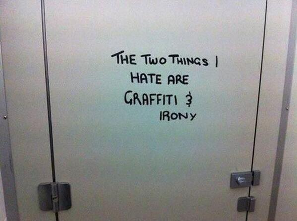 Touché RT @MensHumor: The two thing I hate... http://t.co/eotB6VRYrZ