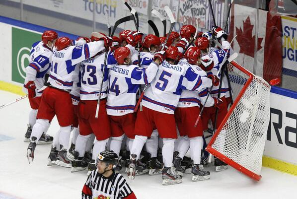 Молодежная сборная россии (хоккей)