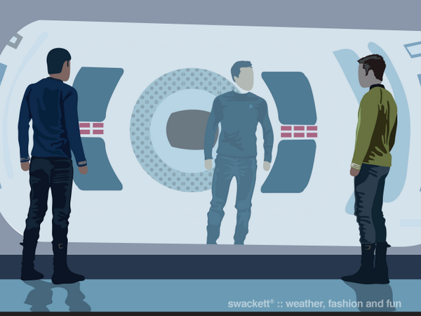 Swackett salutes Science Fiction Day with Star Trek Into Darkness http://t.co/9qBmGt1PFE
