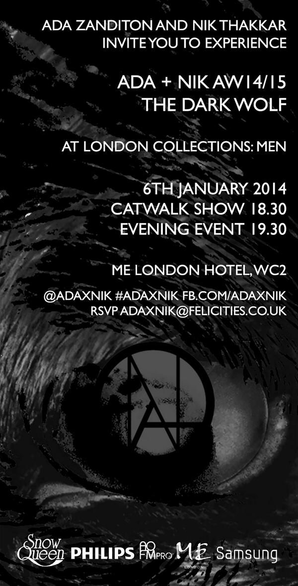 Enjoy an evening of fashion & music c/o of @adaxnik & #YouNeedToHearThis. RT to #win tickets to the #LCM show http://t.co/KtcyLxCrz3
