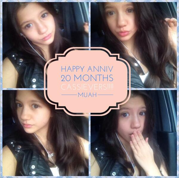Cassandra sheryl lee (@cassandrasleee): #happyanniv20monthscassievers !!!!!!❤️❤️here's a special edit just for YOU!❤️❤️❤️ http://t.co/kCa9z4g2Iq