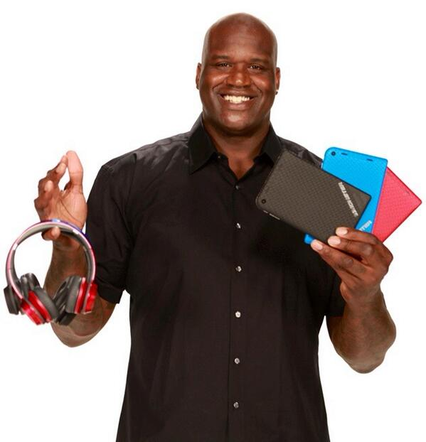 SHAQ (@SHAQ): These are a few of my favorite things. #MonsterTablet http://t.co/Pii5sswOeo http://t.co/vo6fHIDYst