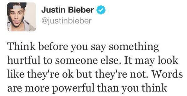 """""""justin bieber doesn't even know you exist"""" http://t.co/Ng7HsMCmV6"""