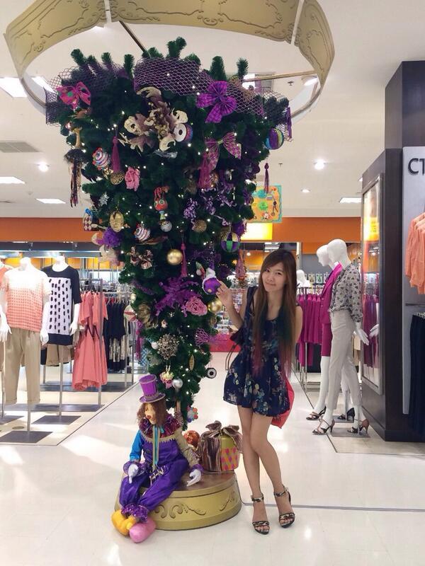 เจอต้นไม้สีเดียวกับปลายผม http://t.co/aMxbUJNvW8
