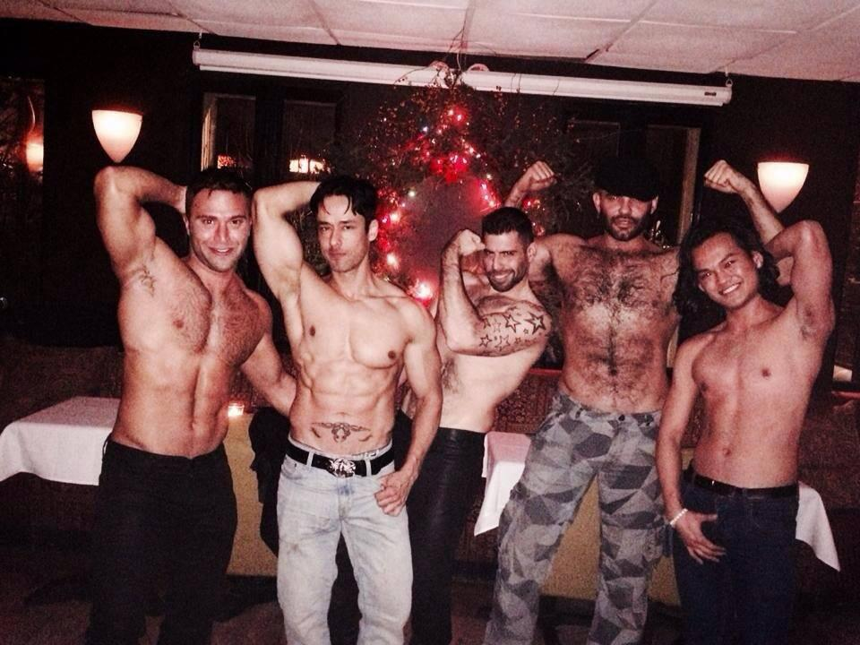 @JRbronsonxxx, @RAFAELALENCAR, Eric Alan, Gio, and @EliLewisXXX at our office holiday party last week! #Rentboy http://t.co/rhfTpqtjf0