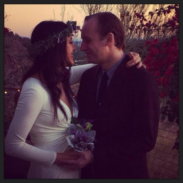 Married this gentleman two hours ago xo http://t.co/q4ZGxszvNp