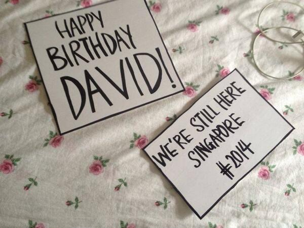 Happy Birthday David Archuleta! @DavidArchie @Kariontour We wish you all the best and hope to see you guys again! http://t.co/t8TWanpJfN