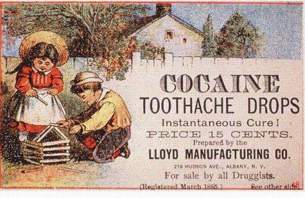 Cocaine Toothache Drops. Instantaneous Cure! http://t.co/nQGSdNL0q8