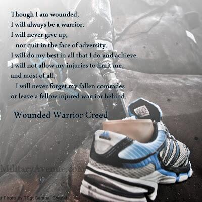 Countdown of our top 50 blog-posts from 2013: #50 - The Wounded Warrior Creed http://t.co/Z6mCAqPOOr http://t.co/3iWfPOpFqY