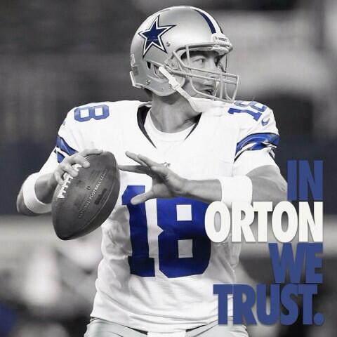 Time to sit at the Head of the Table Mr. Kyle Orton it's go time folks!!! http://t.co/cDs6XH69E7