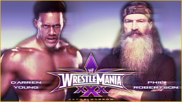 Perhaps if WWE can't come up with a good fantasy match up. Maybe this will be a good one then.. @WWE @DarrenYoungWWE http://t.co/NxuNPdbdMy