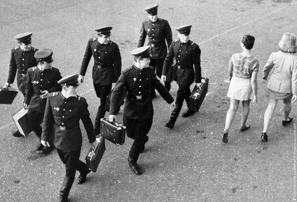 Men in Vilnius, Lithuania, 1965 http://t.co/YD2DsPNNfq