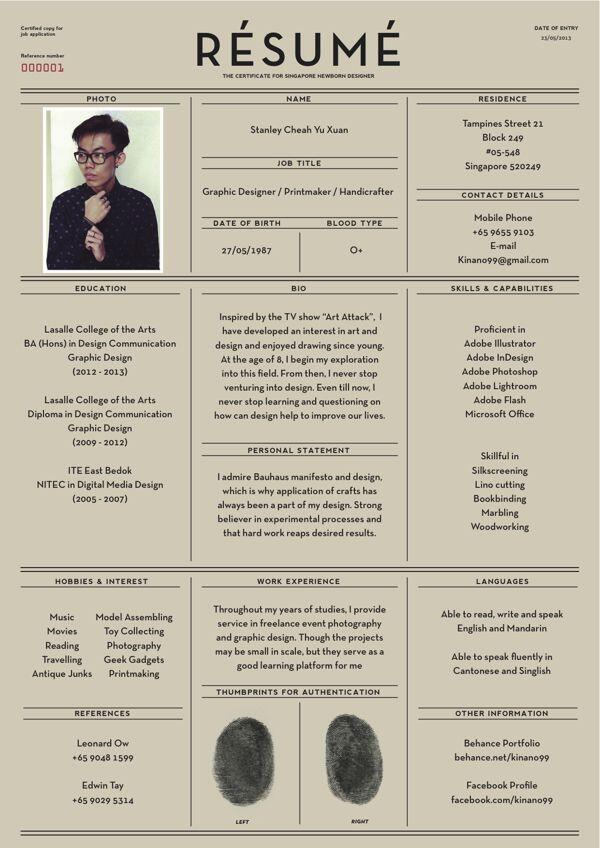Résumé by Yu Xuan http://t.co/gfqgAHUupT