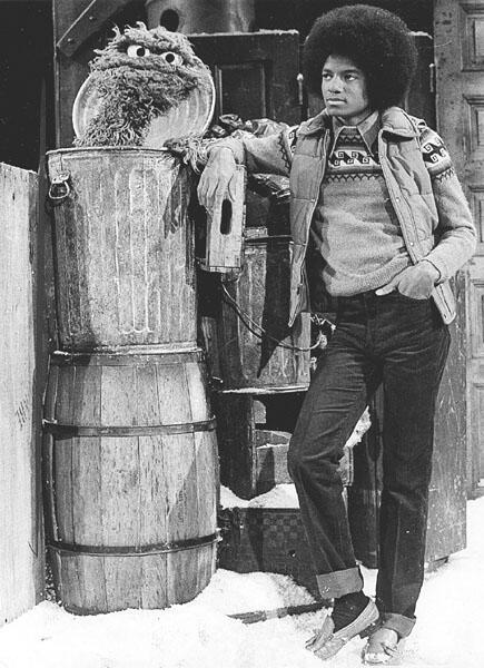 Michael Jackson and Oscar the Grouch, 1978 http://t.co/hlb21ro8F7