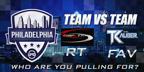 Team vs Team Challenge! Who are you pulling for during #UMGPhilly? RT for @compLexityLive FAV for @Team_KaLiBeR http://t.co/ANoUTneH9P