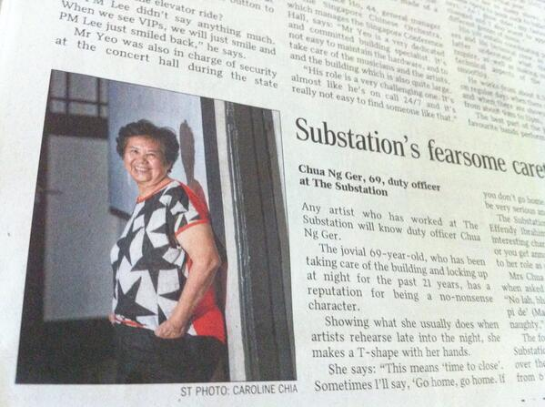 'Go home go home'. 'Close shop close shop'. Our very own Mrs Chua in today's @ST_LifeTweets http://t.co/c2Hh7Mjwox