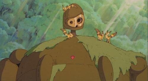 【天空の城ラピュタ】 『風の谷のナウシカ』に登場するキツネリスは、『天空の城ラピュタ』にも登場していた。