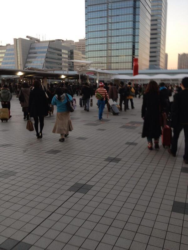 実際に歩いているとしぬほど見つけやすいな http://t.co/fJMZriXUHv