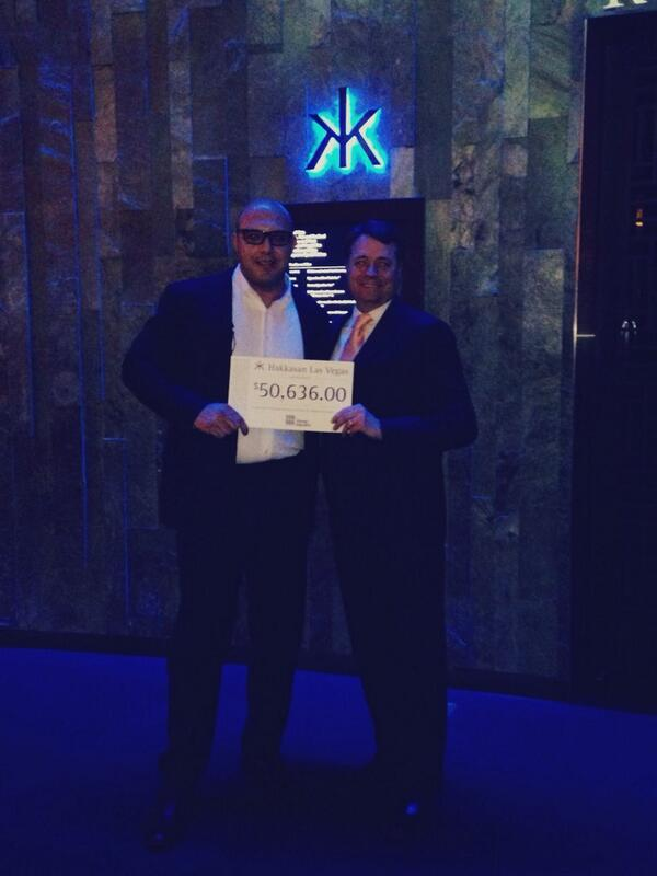 #HakkasanLVGivesBack $50,636 to @threesquareLV, providing 151,908 meals! @HakkasanLV http://t.co/V0TQe5Q8EL