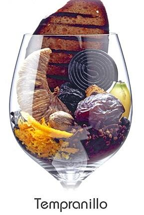 The aromas of #Tempranillo - #visualized. http://t.co/fN6NjAGQ5u