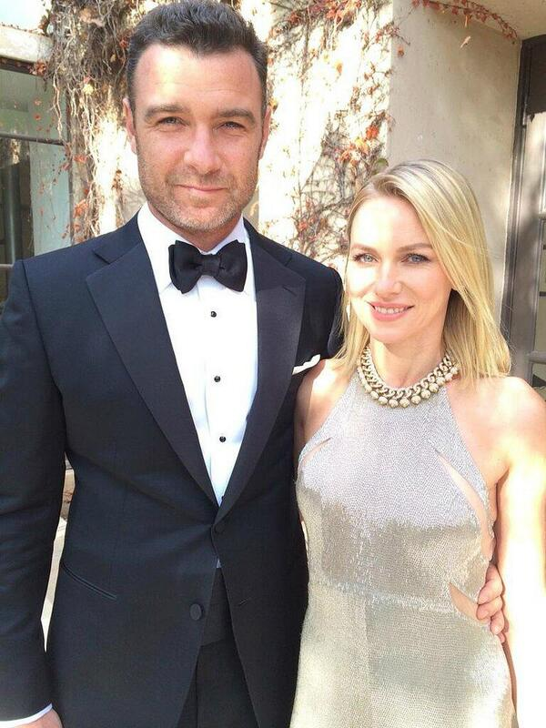 Agree 100% Power couple Naomie Watts and Liev Schreiber looking HOT Agree? #insider #GoldenGlobes http://t.co/vw2QiOGAcg @HouseofSquirrel