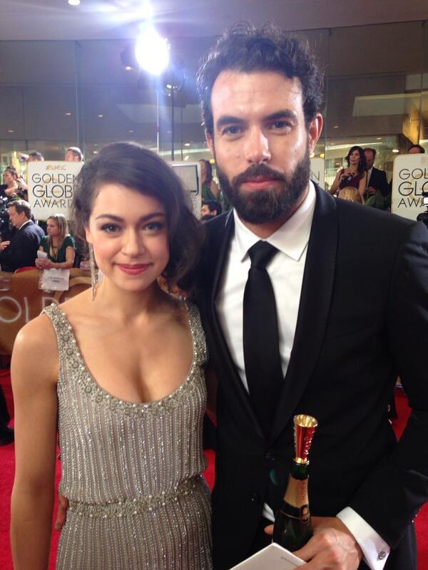 Fun Fact: Sabiam que eles são um casal? http://t.co/BAiMZ6bwwj #OrphanBlack #DowtonAbbey #TSnoGoldenGlobe