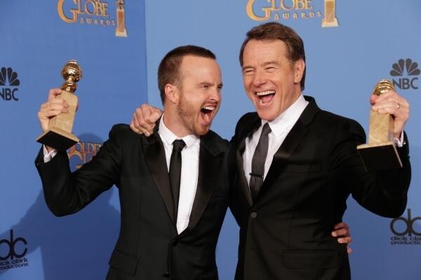 MEJOR ACTOR SERIE DRAMA Bryan Cranston  MEJOR SERIE DE DRAMA Breaking Bad http://t.co/aNBjhKRNbS