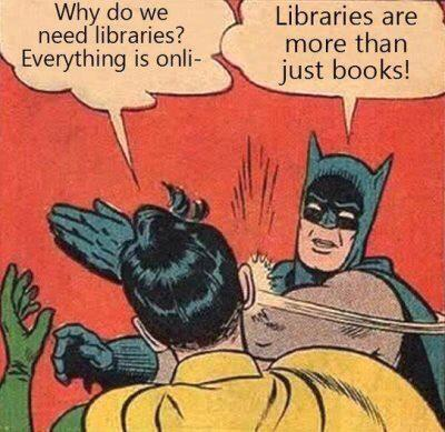 Why do we need libraries? #library http://t.co/b4JNiWXlbp