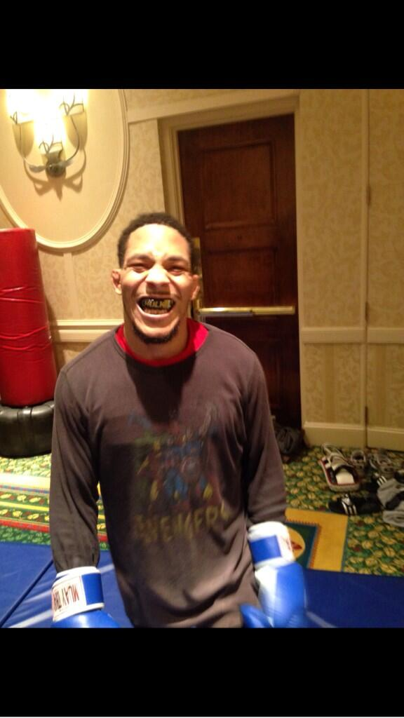 Training complete! I feel great ready for a war with TJ at @ufc FOTN http://t.co/EJJGpYGHk0