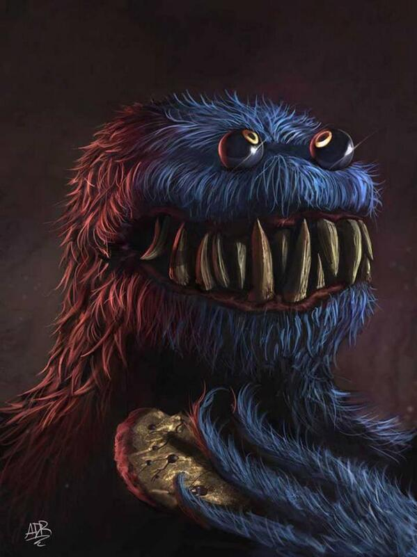 The real Cookie Monster http://t.co/s3fXe09HD8