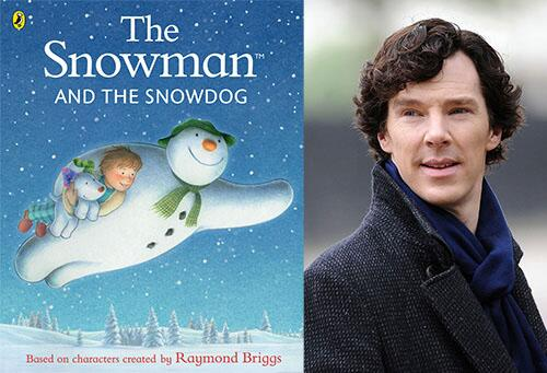 Special #COMPETITION! Win The Snowman & The Snowdog narrated by #Sherlock himself on Me Books, RT & Follow to enter http://t.co/5hHhQD08BT