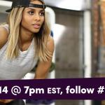 #CSQUAD Twitter Party w/ Ciara, @DegreeWomen & @TheGRAMMYs Jan 14th at 7pm EST! Follow #DOMORE  -Team Ciara- (ad)