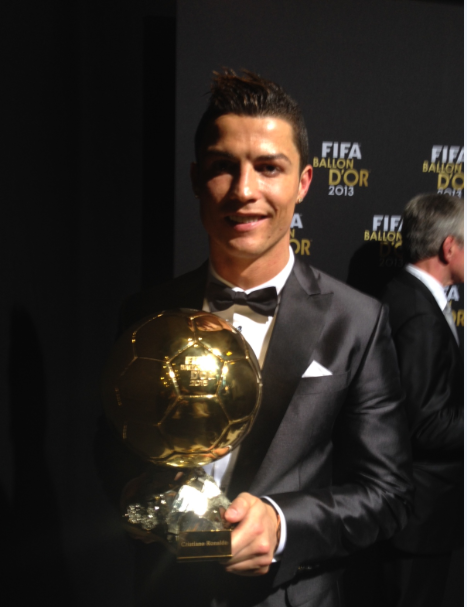 Cristiano Ronaldo (@Cristiano): Very proud to win the Ballon d'Or for the second time, it means so much to me. I thank my teammates. http://t.co/INcV1VjgDx