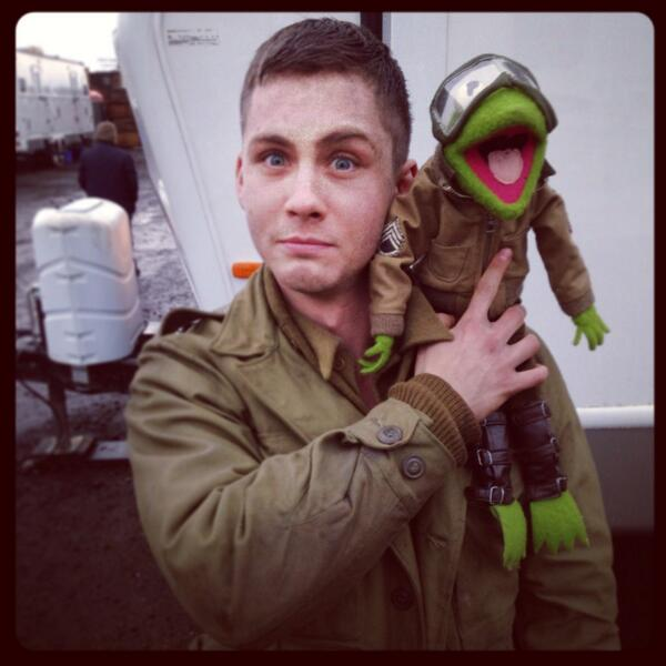 Kermit joins the tank crew. http://t.co/3r3sEFqgYK