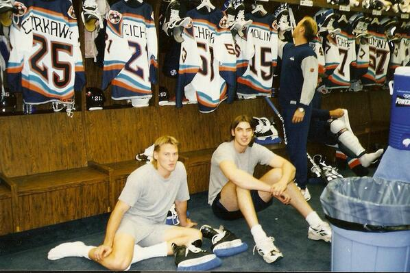 Chara back in the day, Islander days. http://t.co/HrXVF0gz1G